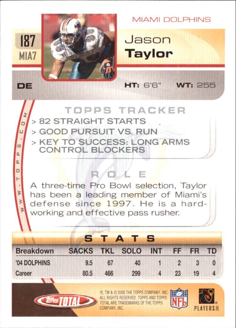 2005-Topps-Total-Football-Card-Pick-1-322 thumbnail 261
