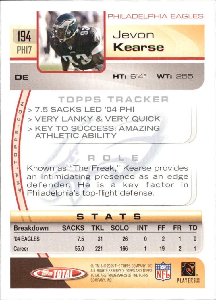 2005-Topps-Total-Football-Card-Pick-1-322 thumbnail 271