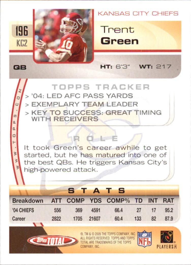 2005-Topps-Total-Football-Card-Pick-1-322 thumbnail 275
