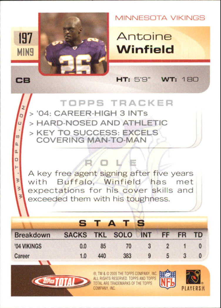 2005-Topps-Total-Football-Card-Pick-1-322 thumbnail 277