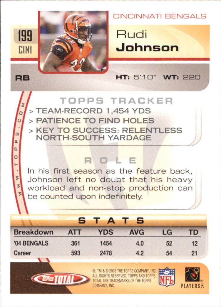 2005-Topps-Total-Football-Card-Pick-1-322 thumbnail 281