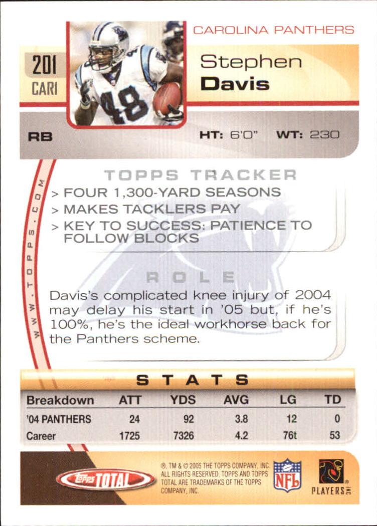 2005-Topps-Total-Football-Card-Pick-1-322 thumbnail 285