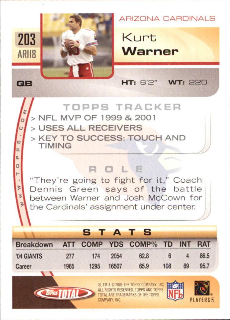 2005-Topps-Total-Football-Card-Pick-1-322 thumbnail 289