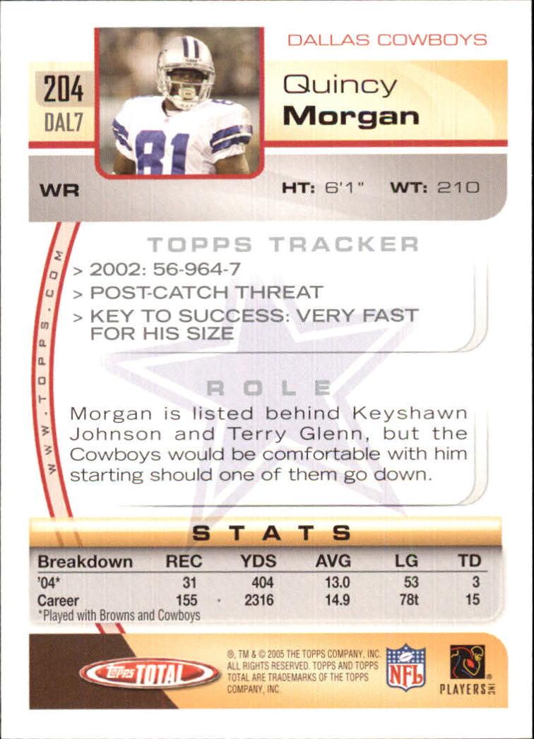 2005-Topps-Total-Football-Card-Pick-1-322 thumbnail 291