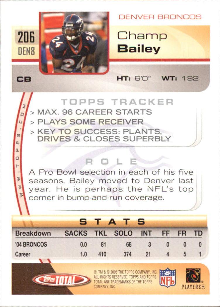 2005-Topps-Total-Football-Card-Pick-1-322 thumbnail 293