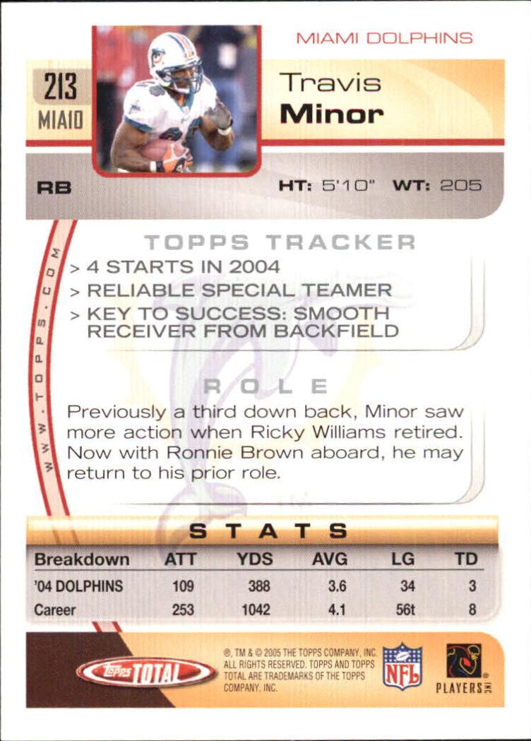 2005-Topps-Total-Football-Card-Pick-1-322 thumbnail 303