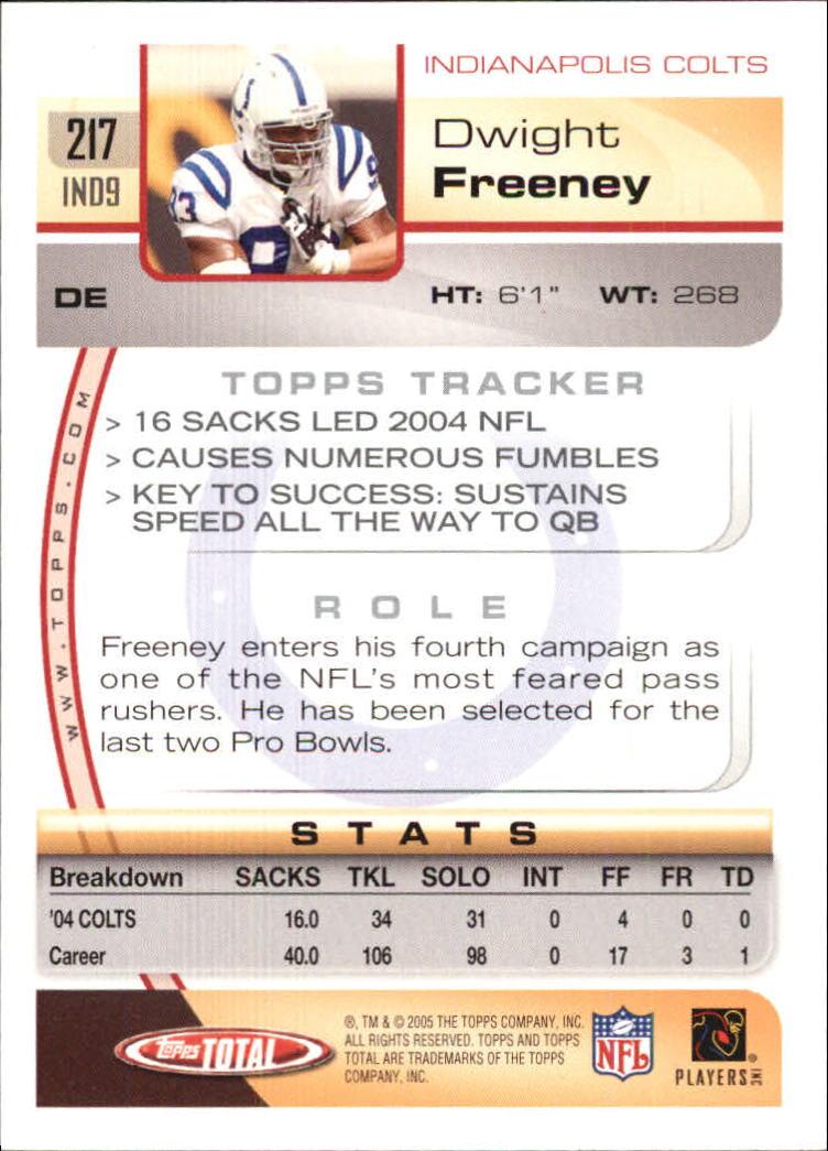 2005-Topps-Total-Football-Card-Pick-1-322 thumbnail 311