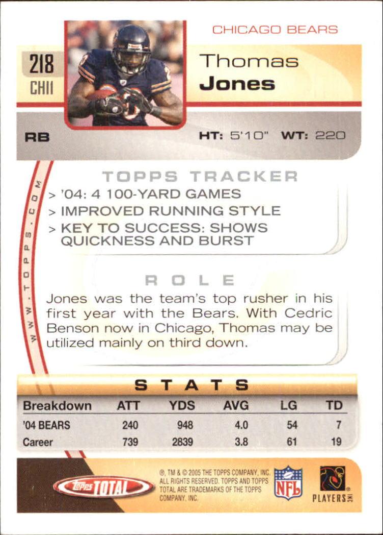 2005-Topps-Total-Football-Card-Pick-1-322 thumbnail 313