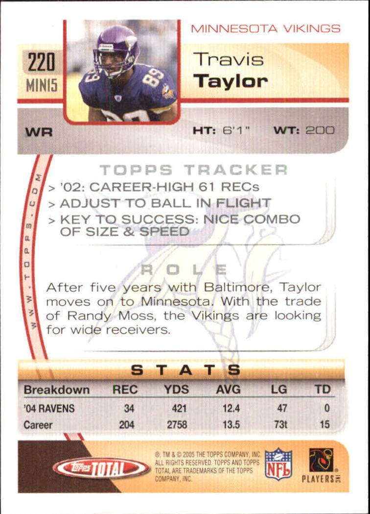 2005-Topps-Total-Football-Card-Pick-1-322 thumbnail 317