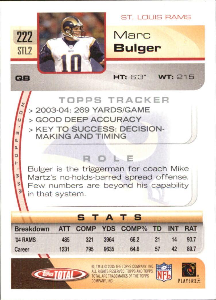 2005-Topps-Total-Football-Card-Pick-1-322 thumbnail 321