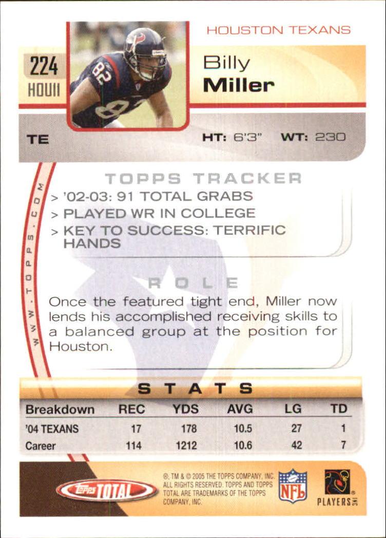 2005-Topps-Total-Football-Card-Pick-1-322 thumbnail 323