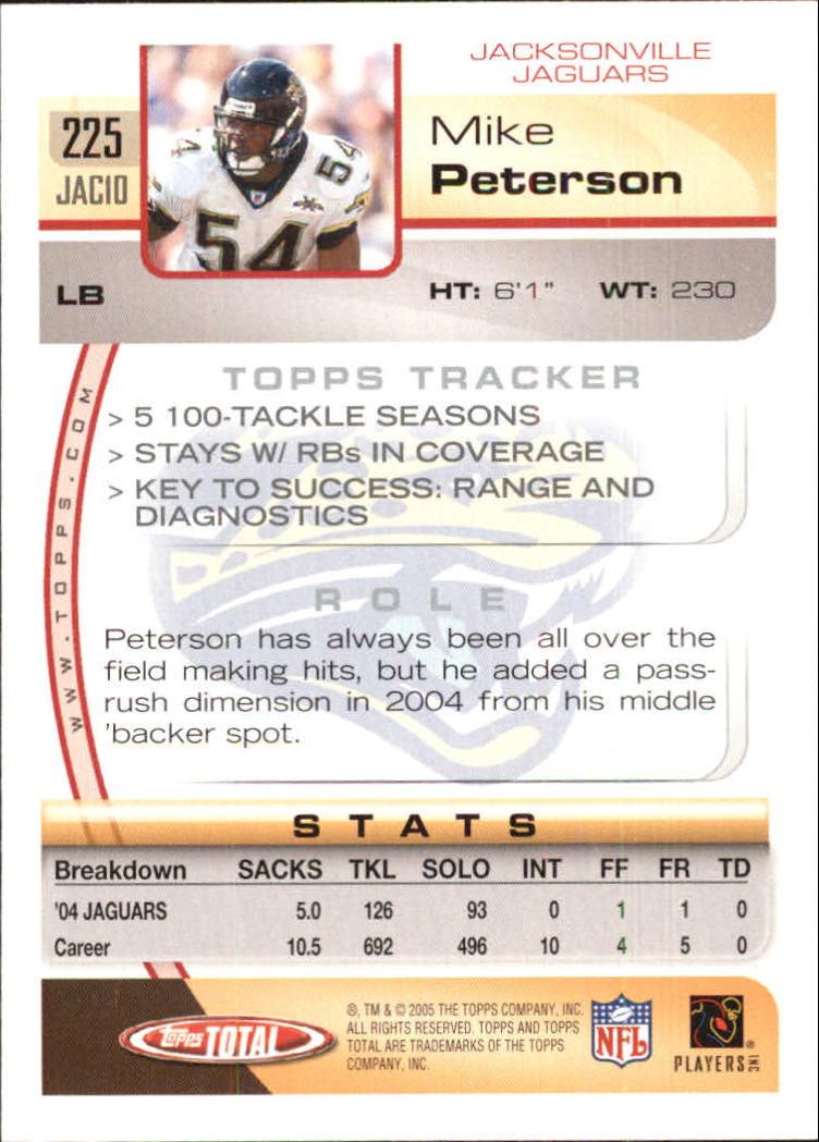 2005-Topps-Total-Football-Card-Pick-1-322 thumbnail 325