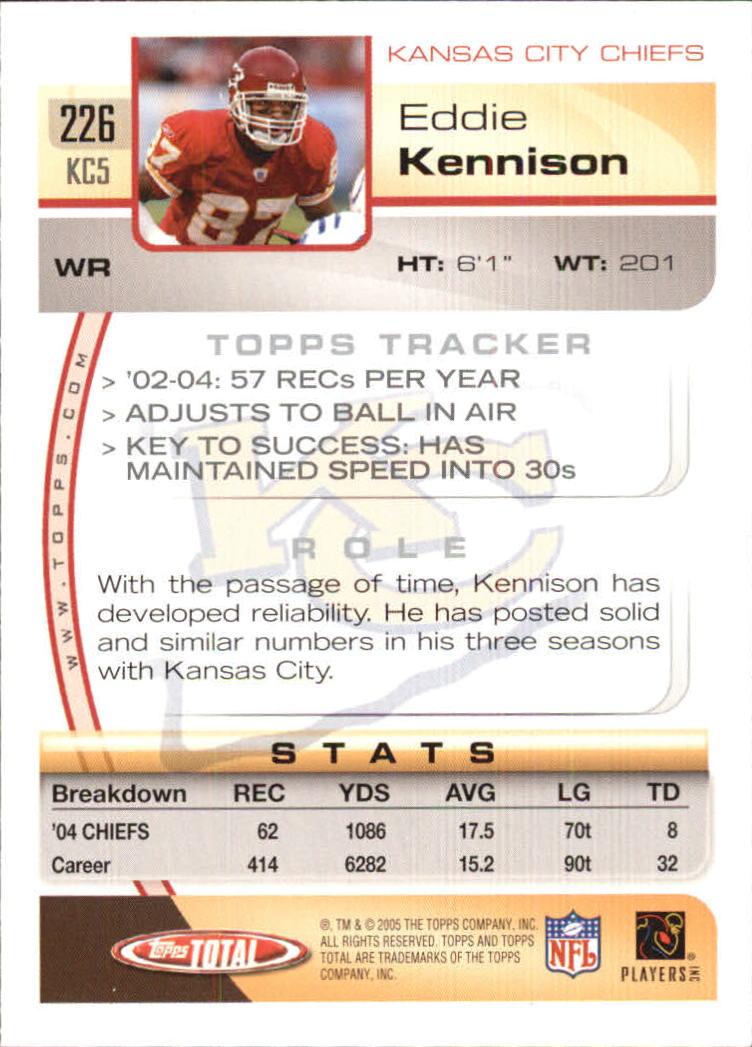 2005-Topps-Total-Football-Card-Pick-1-322 thumbnail 327