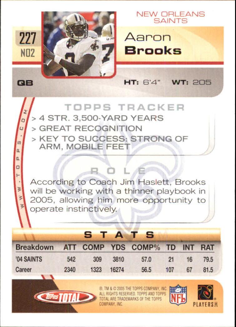 2005-Topps-Total-Football-Card-Pick-1-322 thumbnail 329