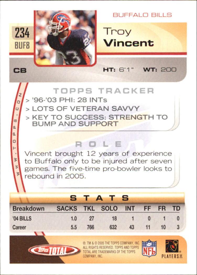 2005-Topps-Total-Football-Card-Pick-1-322 thumbnail 343