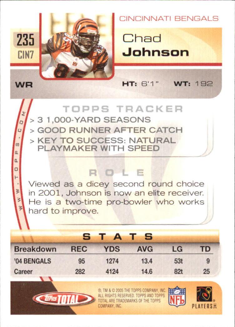 2005-Topps-Total-Football-Card-Pick-1-322 thumbnail 345