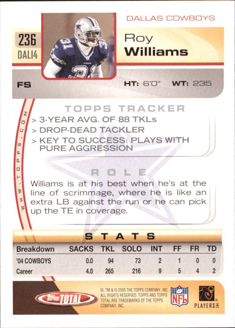 2005-Topps-Total-Football-Card-Pick-1-322 thumbnail 347