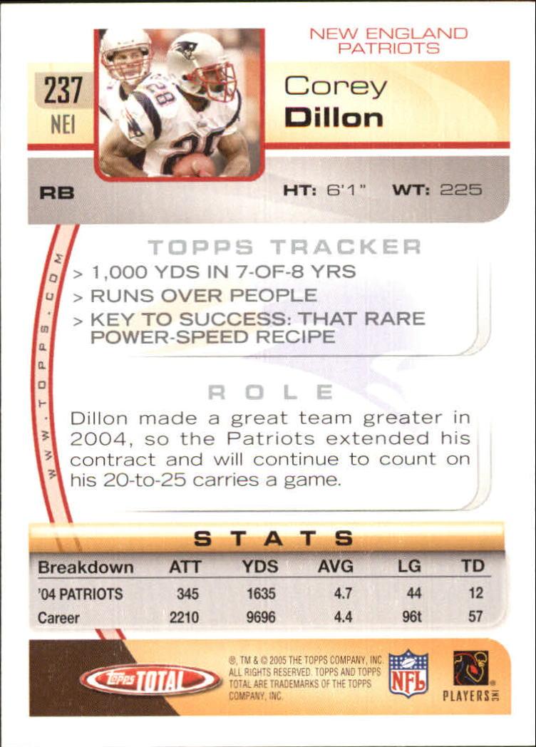 2005-Topps-Total-Football-Card-Pick-1-322 thumbnail 349