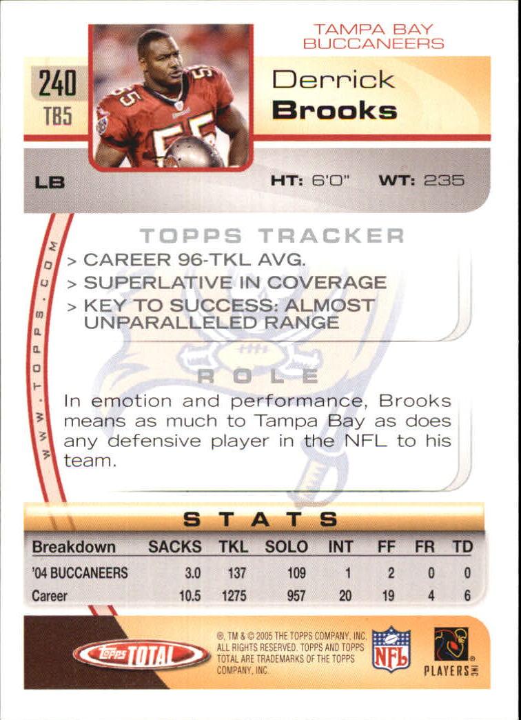 2005-Topps-Total-Football-Card-Pick-1-322 thumbnail 353