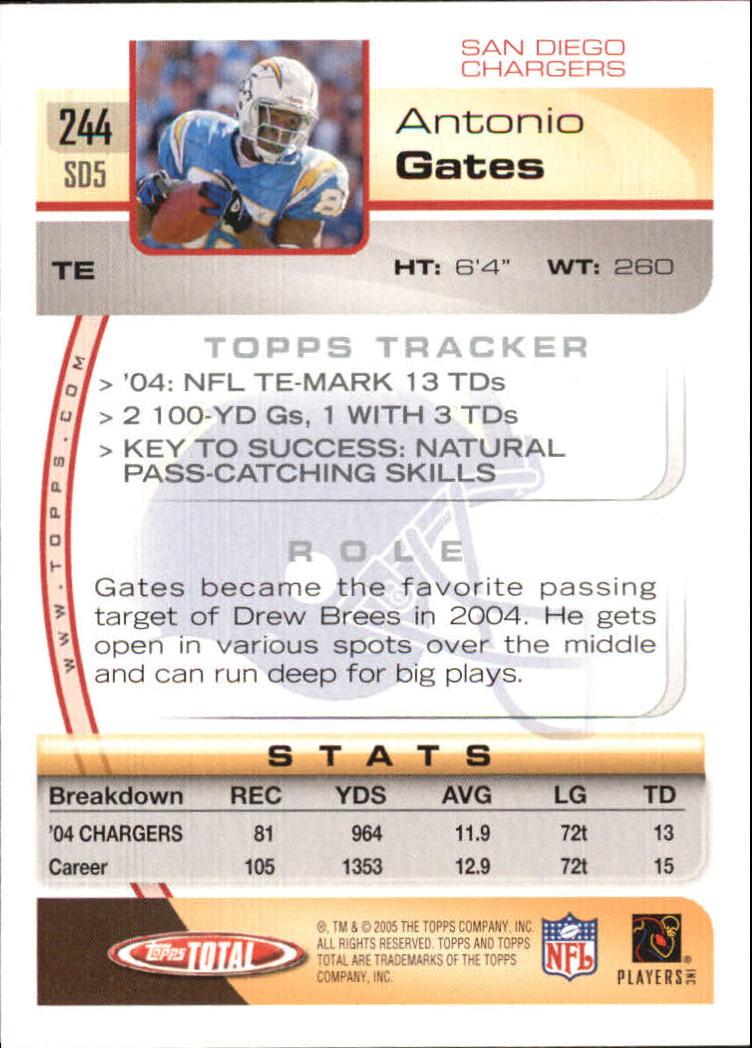 2005-Topps-Total-Football-Card-Pick-1-322 thumbnail 357