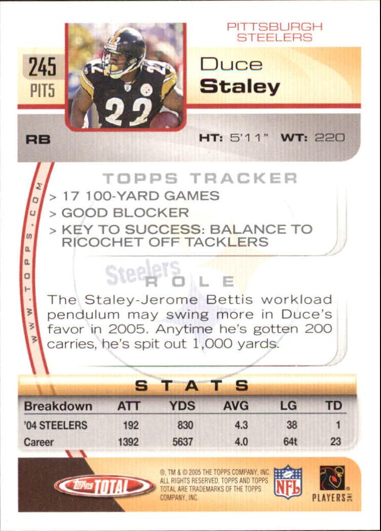 2005-Topps-Total-Football-Card-Pick-1-322 thumbnail 359