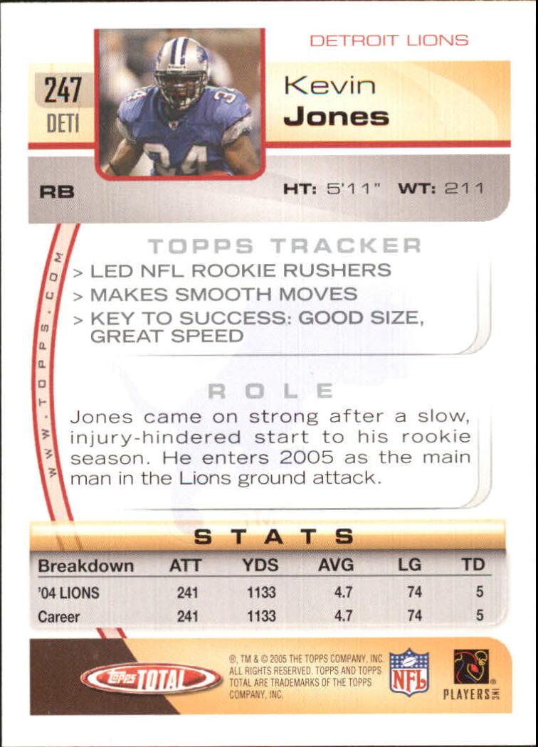 2005-Topps-Total-Football-Card-Pick-1-322 thumbnail 363