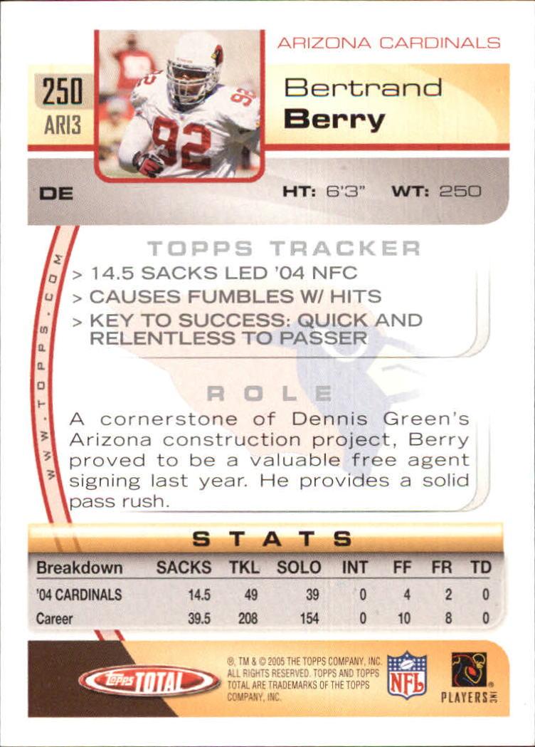 2005-Topps-Total-Football-Card-Pick-1-322 thumbnail 367