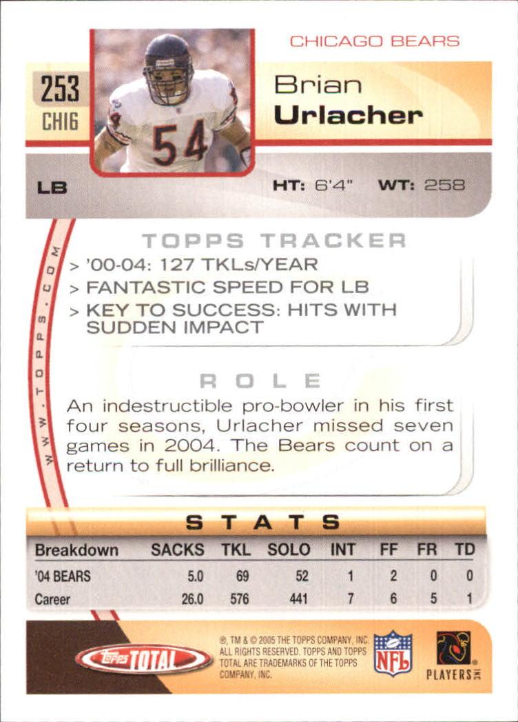 2005-Topps-Total-Football-Card-Pick-1-322 thumbnail 371
