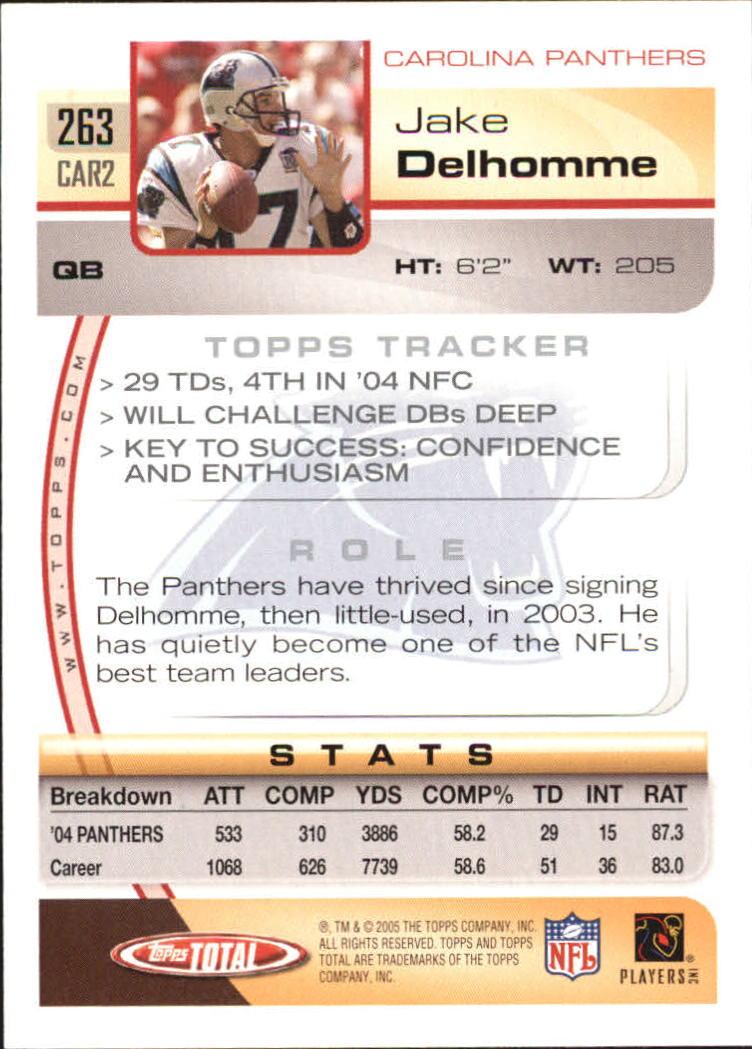 2005-Topps-Total-Football-Card-Pick-1-322 thumbnail 387