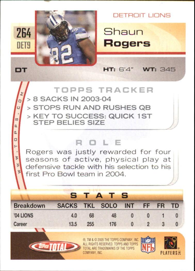 2005-Topps-Total-Football-Card-Pick-1-322 thumbnail 389