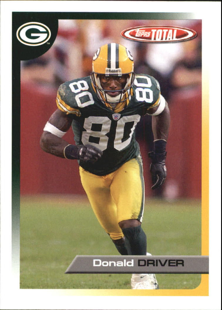 2005 Topps Total #265 Donald Driver