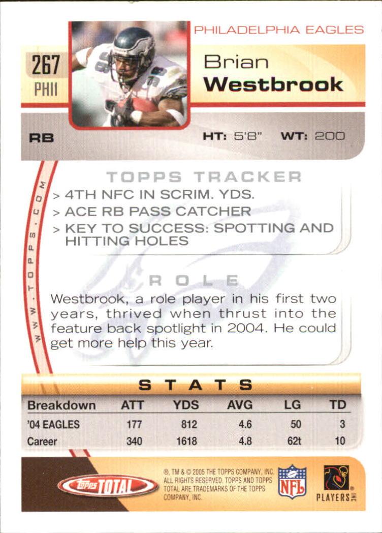 2005-Topps-Total-Football-Card-Pick-1-322 thumbnail 395