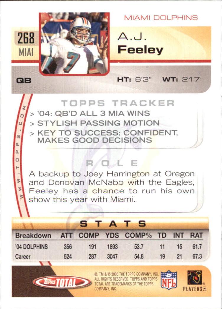 2005-Topps-Total-Football-Card-Pick-1-322 thumbnail 397