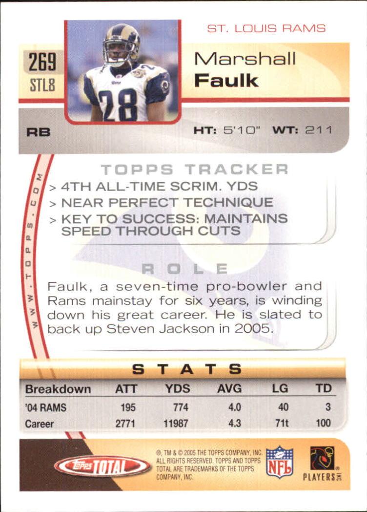 2005-Topps-Total-Football-Card-Pick-1-322 thumbnail 399