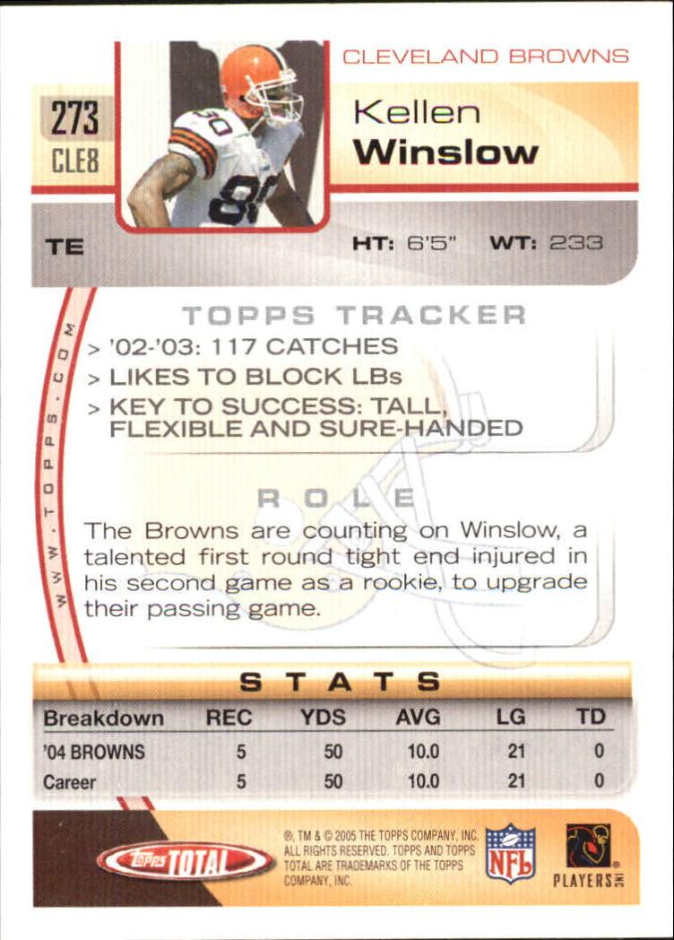 2005-Topps-Total-Football-Card-Pick-1-322 thumbnail 405