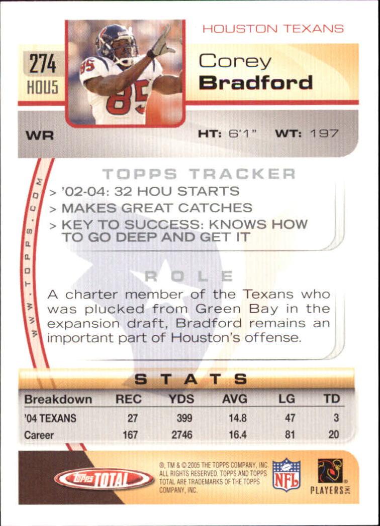 2005-Topps-Total-Football-Card-Pick-1-322 thumbnail 407