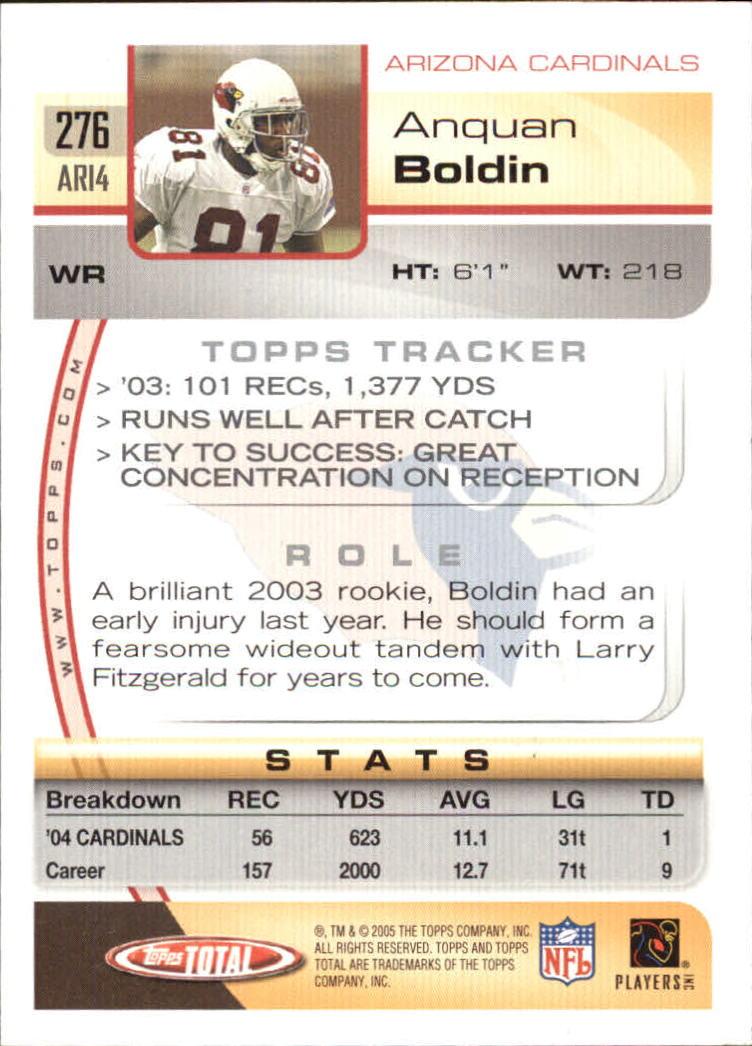 2005-Topps-Total-Football-Card-Pick-1-322 thumbnail 411