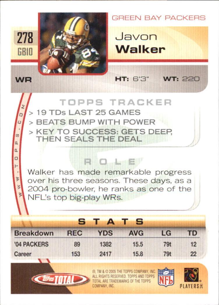 2005-Topps-Total-Football-Card-Pick-1-322 thumbnail 415
