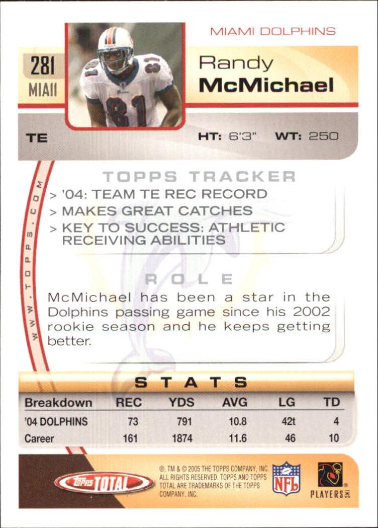 2005-Topps-Total-Football-Card-Pick-1-322 thumbnail 417