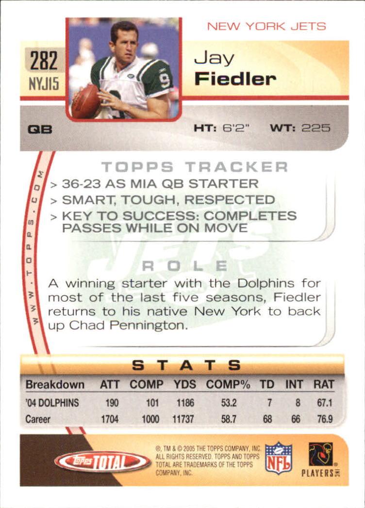 2005-Topps-Total-Football-Card-Pick-1-322 thumbnail 419