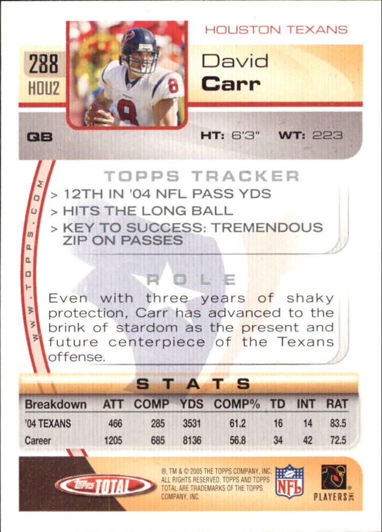 2005-Topps-Total-Football-Card-Pick-1-322 thumbnail 427