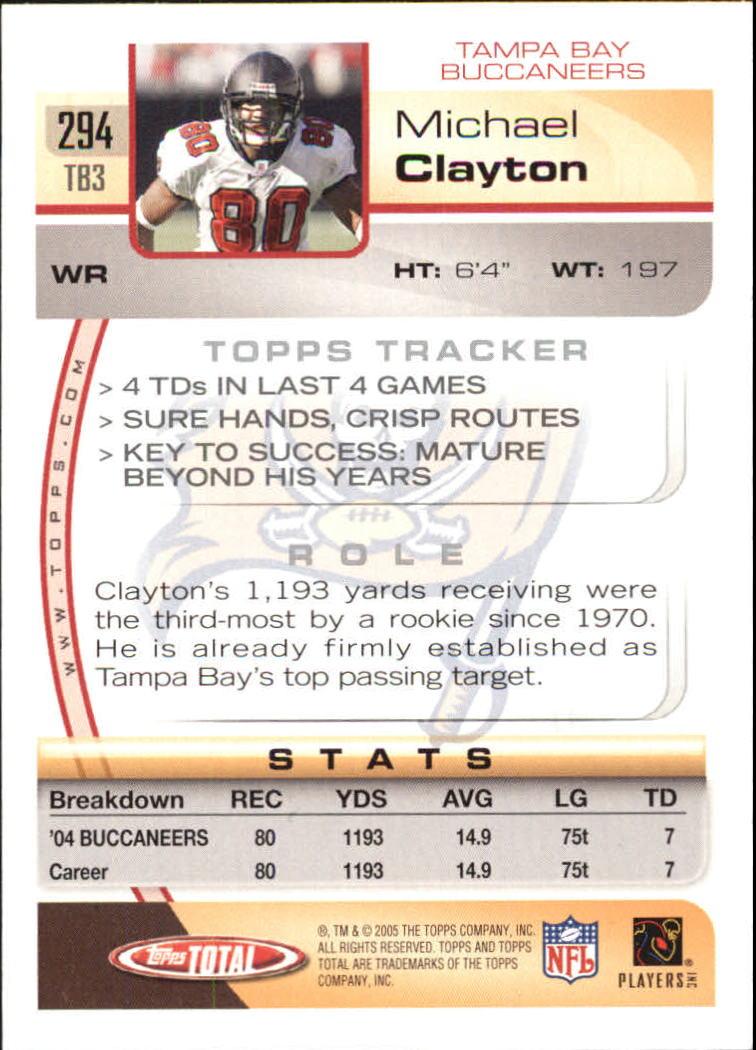 2005-Topps-Total-Football-Card-Pick-1-322 thumbnail 435