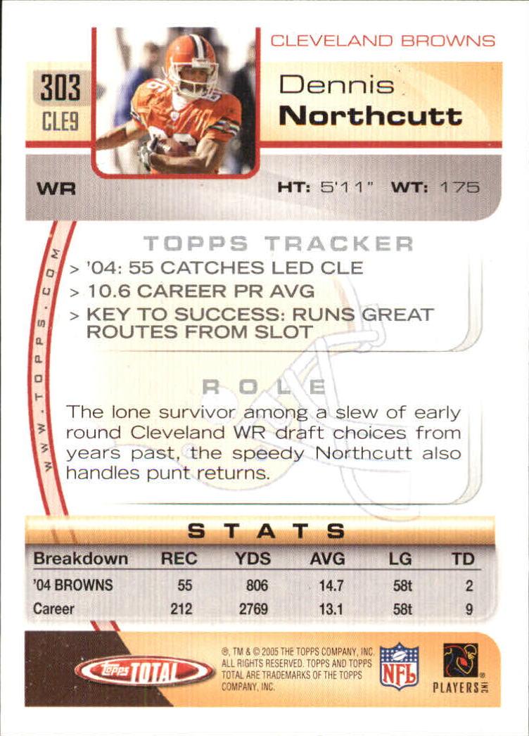 2005-Topps-Total-Football-Card-Pick-1-322 thumbnail 451
