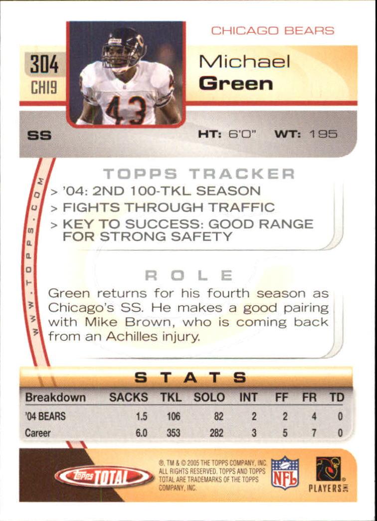 2005-Topps-Total-Football-Card-Pick-1-322 thumbnail 453
