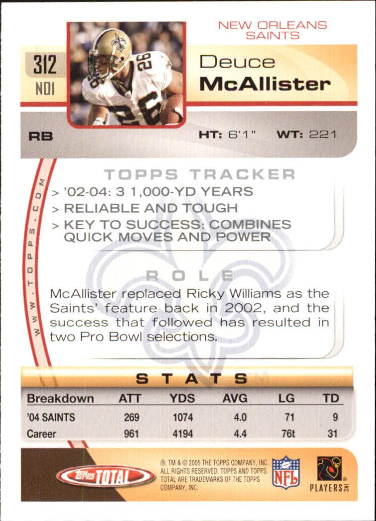 2005-Topps-Total-Football-Card-Pick-1-322 thumbnail 467