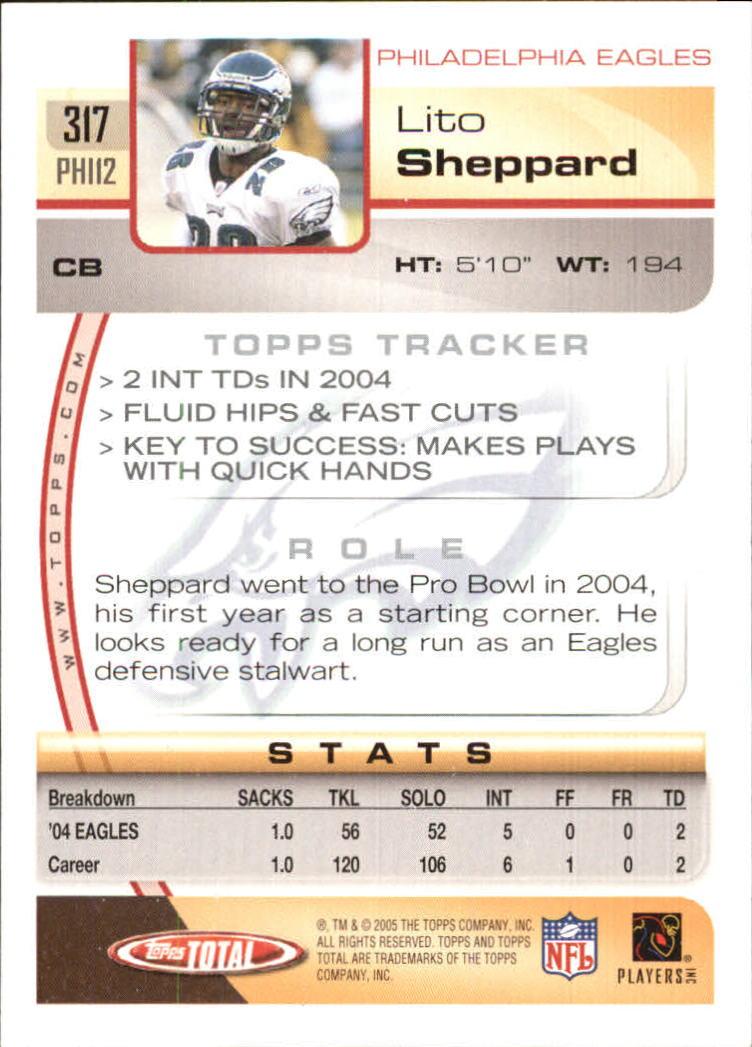 2005-Topps-Total-Football-Card-Pick-1-322 thumbnail 477