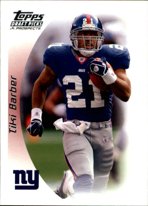 2005 Topps Draft Picks and Prospects #9 Tiki Barber