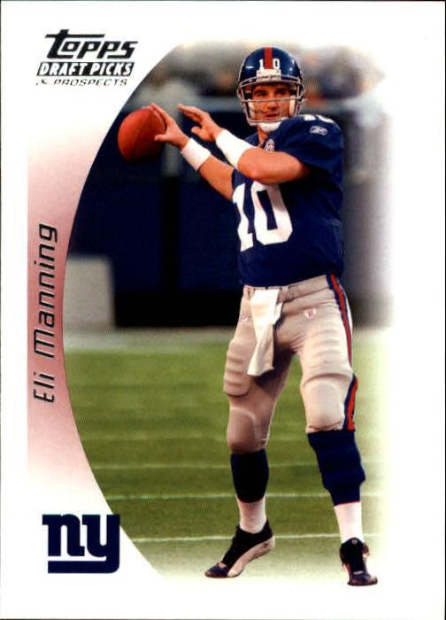 2005 Topps Draft Picks and Prospects #56 Eli Manning