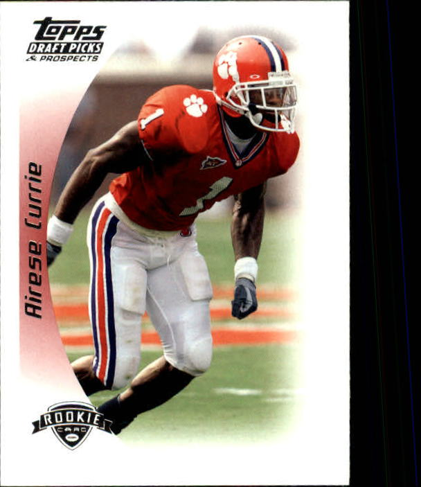 2005 Topps Draft Picks and Prospects #139 Airese Currie RC