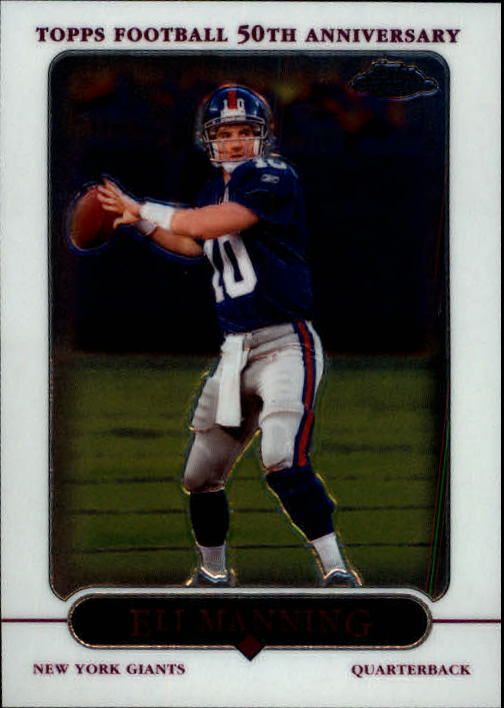 2005 Topps Chrome #36 Eli Manning